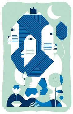 Hedof - Mascotte on Behance #print #illustration