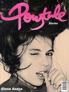 Ponytale Stories #typography #magazine #editorial