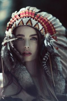 tumblr_lze39d0rEe1r4f8dlo1_1280.jpg (imagen JPEG, 686 × 1024 píxeles) #woman #photo #cute #native #beauty