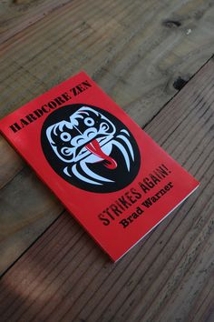 Book Cover #daruma #book #cover #hardcore #zen #kiss