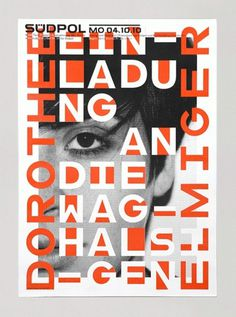 Südpol 2010 « FEIXEN: Design by Felix Pfäffli #design #graphic #poster #typography