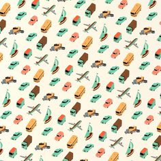 Pattern Owen Gatley #pattern #cars #vehicles #planes