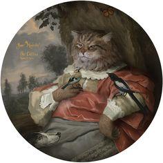 #cat #painting # illustration