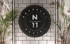 Neghelli 11 by Whiskey & Mentine #design #graphic #identity #logo #typography