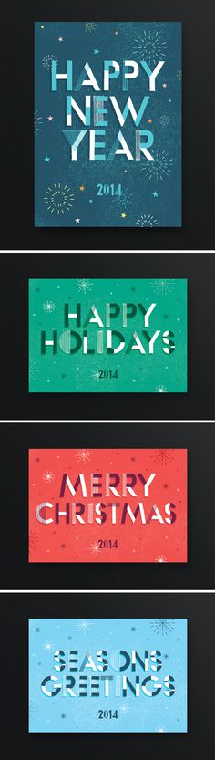 Christmas Illustrations - One Plus One Design #Illustration #Graphic #Design