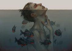 Digital Illustrations by Magdalena Pagowska