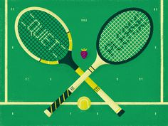 #illustration #tennis