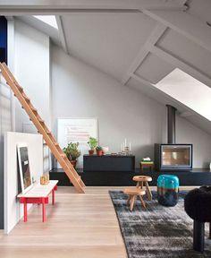 Stylish Duplex Apartment in Paris by RMGB - home decor, #decor, interior design, decorating ideas