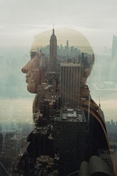 Shoots #photography #film #nyc #double exposure #portrait #composite #matthew lawless