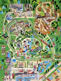 Brick Fetish #lego #map #park #theme #1970s
