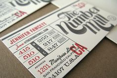 ticket, letterpress #letterpress #ticket