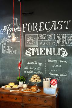 5Breakfast Room Menu Board Detail #interior design #decoration #decor #deco