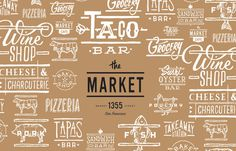 taco, design, pattern, market, logo, pattern, food