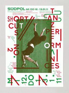 Südpol 2011 « FEIXEN: Design by Felix Pfäffli #poster #typography