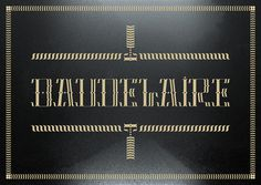 Dandy Collection Typeface / Font #1 / Baudelaire - www.vicentegarciamorillo.com