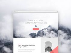 A clean and modern #template you can use to create a stunning product landing page.