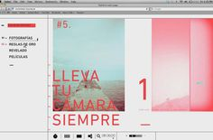 Lomo LC-A - Website on Behance