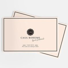 Casa Boheme Lookbook by vanessavanselow.com #lookbook #bohemian #layout #design