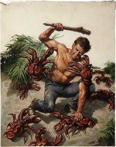 Boing Boing #cartoon #crab