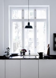 The Design Chaser: Stine Langvad #interior #design #decor #pendant #kitchen #deco #decoration