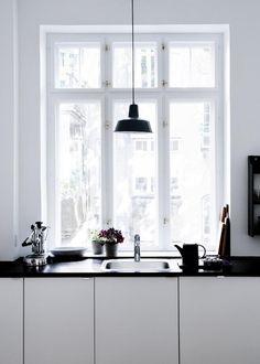 The Design Chaser: Stine Langvad #interior #design #decor #pendant #kitchen #deco #decoration