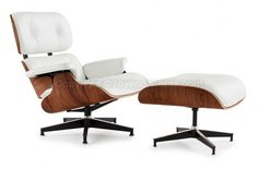 Eames Lounge Chair & Ottoman #chair #ottoman #leather #lounge #eames