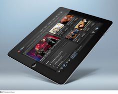 NPR Music iPad App on Dropula The inspirational catalogue #display #showcase
