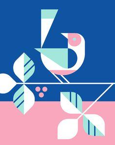 EHD, eight hour day, Minneapolis, design, illustration, facebook, geometry
