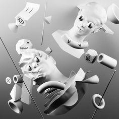 Chance the Rapper & Nosaj Thing - Paranoia (Single), Mario Hugo, Hugo & Marie #album #cover #artwork