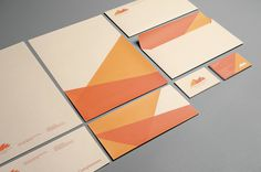 AECF Yerevan Dilanchian #print #orange #letterhead #stationery #envelope