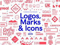 A collection of our favourite Logos, Marks & Icons created by Studio–JQ in 2015. View the full collection here Follow Studio–JQ Beha #dribbble #2015 #logos #branding #marks #icons #logo #illustration #behance #type