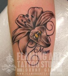 Awesome Lily Tattoo Designs #tattoo #lily #designs