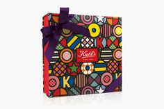 Kiehl's x Craig & Karl Collaboration — The Dieline #karl #chocolate #packagin #craig #kiehls