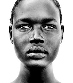 Black & White Portrait on the Behance Network #white #black #photography #portrait #and