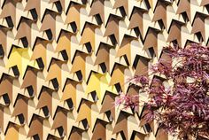 House With a Bronze Leaf Facade