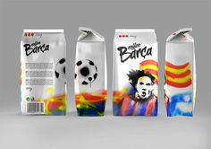Student Spotlight: FC Barcelona CoffeeHouse - The Dieline: The World's #1 Package Design Website -