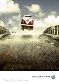 VWNoFear1.jpg (848×1200) #volkswagen #jump #commercial