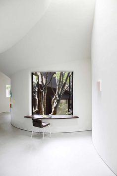 CJWHO ™ (Roku Museum, Oyama, Japan | Hiroshi Nakamura #white #museum #design #interiors #oyama #japan