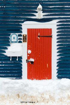 The Red Door – St. John's, Newfoundland, Canada