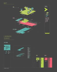 Trinity Bellwoods Wayfinding on Behance #map #wayfinding #information