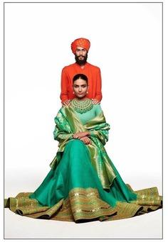 Phiroja :The Modern Heritage Wedding Lehenga