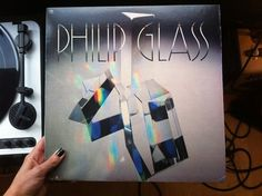 Little Paper Planes | The Blog #record #philip #cover #glass