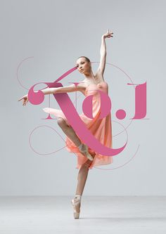 No.1 Dance Studio on Behance #type