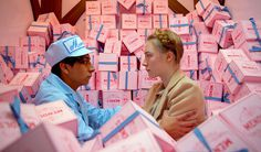 The Grand Budapest Hotel #film #design #set #settings #still