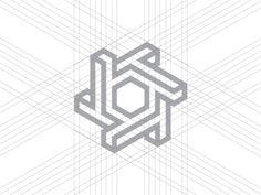 The Texas Turbine - grid  #logo #branding #brand #impossibility