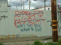 1_tumblrlj1w170mkc1qaqkq6.jpg 465×348 pixels #grafitti #motto
