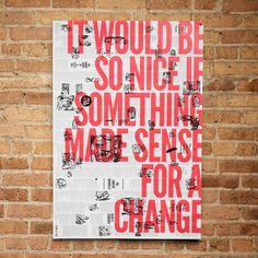 storybook posters by Brandt Brinkerhoff and Katherine Walker #posters #publication #typography