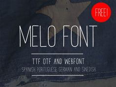 Melo Free Handwriting Font