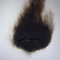DETHJUNKIE* #burn #theets #black #smile #mouth