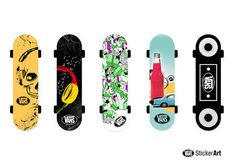 VANS Sticker Art #design #boards #skate #vans #art #sticker